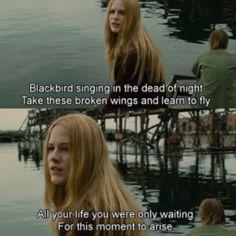 Across the Universe Blackbird lyrics