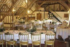 Fitzleroi Barn, Barn Wedding Venue near Pulborough in West Sussex.