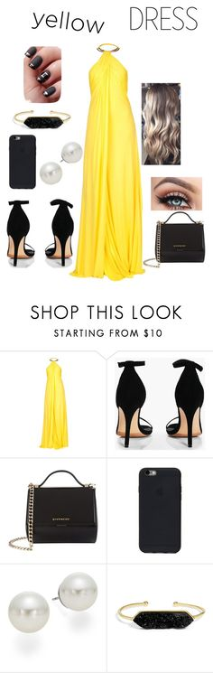 """""""Untitled #89"""" by emmarpage ❤ liked on Polyvore featuring Roberto Cavalli, Boohoo, Givenchy, AK Anne Klein and BaubleBar"""