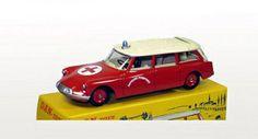 Citroën ID19 Break Ambulance Pompiers Dinky Toys Replica Limited Edition 1/43