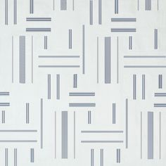 Ralph Lauren Home's blue and white patchwork fabric in Marine