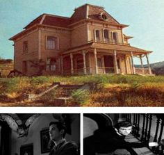 Famous movie house Psycho