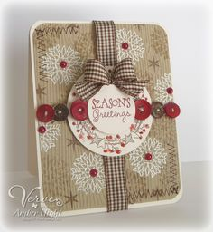 The Stamping Scrapbooker: Verve Spotlight Hops Day 3 - Holiday Greetings