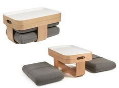 Table basse pouf mister t madeindesign