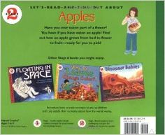 """How Apples Grow: Books about plant pollination are also great ways to help children realize that many living things require a male part and a female part to continue the life cycle and create the next generation. While reading this, my son (he's had """"The Talk"""") immediately connected the dots. I explained to the kids that when the fertilized flower grows fruit it swells, similar to a pregnant lady's belly once her egg gets fertilized. When they learn about sex, it won't be a foreign concept."""