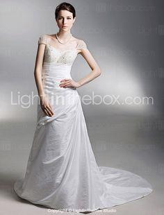 http://www.lightinthebox.com/A-line-Off-the-shoulder-Court-Train-Taffeta-Side-draped-Wedding-Dress--WSM04244-_p144601.html#