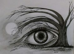 Eye in the Sky. 8x10 Original Drawing completed in pencil & pen. I drew this project specially to make my first start-finish time lapse video for YouTube. Available here: http://baylissgallery.com/artwork-for-sale/scenery/product/776-eye-in-the-sky-original