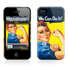 We Can Do It iPhone 4/4S Case now featured on Fab. by GelaSkins