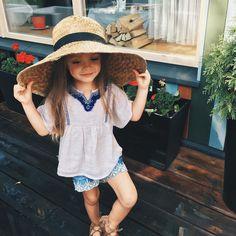👒🌻🌹💮 Lovely Anastasia ~ Joyful Summer Time 🌞🎈 Little Shlyapnitsa 👒 the little Milliner 💟_Jun - 3 yrs old *. Fashion Kids, Fashion Hacks, Boho Fashion, Fashion Trends, Anastasia, Cute Babies, Baby Kids, Future Daughter, Beautiful Children