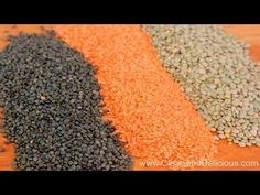 Everything you need to know about lentils.  Check out the video here: http://cleananddelicious.com/2014/01/06/lentils-101-video/