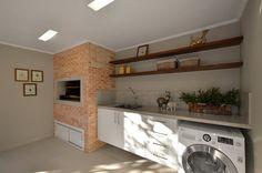 Área de Lazer na cidade: Cozinha  por Stefani Arquitetura