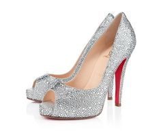 Very Riche Strass Crystal, tacco cm 12 by Christian Louboutin - #shoes #crystal #louboutin