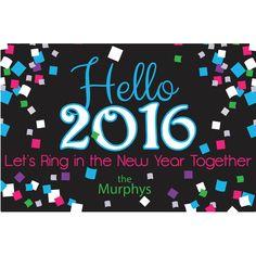 New Year's Eve Door Sign