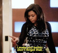Are you involved with someone that doesn't appreciate your significance to their happiness, and success? Feel free to share our little reminder gif courtesy of Cookie from Fox's hit drama Empire. Empire Quotes, Empire Memes, Prison Quotes, Cookie Quotes, Empire Cookie, I Dont Fit In, Slay Girl, Empire Fox, Wife Mom Boss
