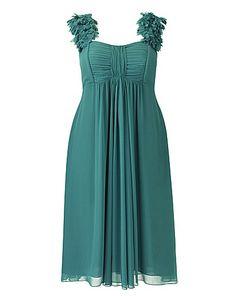 Petal Trim Dress | Simply Be
