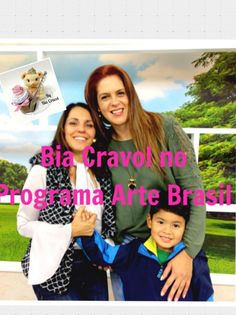 Bia Cravol no Programa Arte Brasil -Ursinha Porta Doce de Leite - biscuit