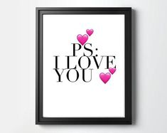 I Love You Quotes, Love Yourself Quotes, Nursery Wall Decor, Nursery Art, Ps I Love You, My Love, Online Print Shop, Bedroom Art, Art Wall Kids