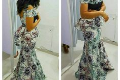 Ankara look that feel modern & fashion forward! Ankara fabrics are versatile, colourful and dominate red carpet and make fashion statements all the time and the weekends are the perfect…