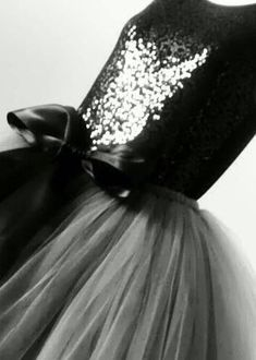 Winter Day, Black And Grey, Gray, Sequin Skirt, Tulle, Sequins, Skirts, Silver, Fashion