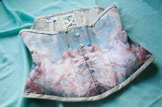 Venus Rococo Corset Historical Corset Fragonard by RetroFolie, $270.00 I love Rococo art and corsets...win win.