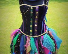 Mad Hatter Corset - Full Costume by Faerie In The Foxglove
