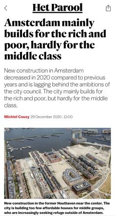City Council, Previous Year, New Construction, Amsterdam, News