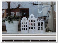 DIY Papercuts: decoratieve huisjes www.loveallcrafts.nl