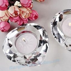 Crystal Crafts candles Party Decoration by Beter Gifts