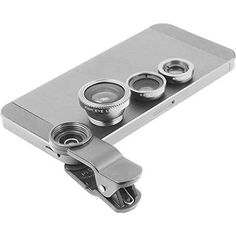Gray Universal Clip-on 180 degree 3 in 1 Fisheye+Wide Angle+Macro Camera Lens Kit for iPhone 5 4 6 Samsung Galaxy Note HTC Blackberry Bold Touch, Sony Xperia, Motorola Droid Camera Lens, Macro Camera, Blackberry Bold, Phone Gadgets, Sony Xperia, Samsung Galaxy S5, Wide Angle, Cell Phone Accessories, Iphone