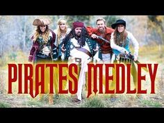 Pirates Medley - Peter Hollens & Gardiner Sisters (Devinsupertramp) - YouTube    Peter Hollens is amazing. It's all a cappella.