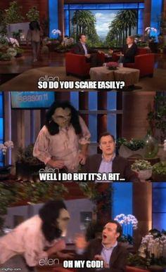 Ellen trolling The Governor