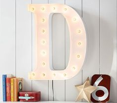 White Marquee Letters | Pottery Barn Kids