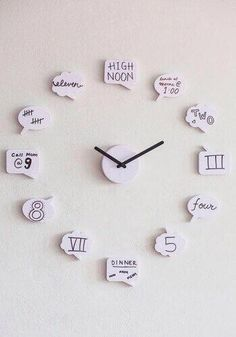 DIY Clock this is interesting?