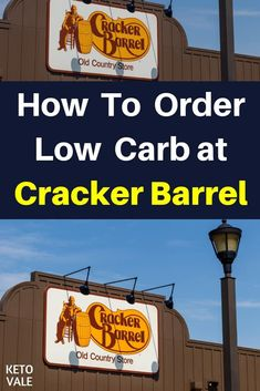Keto Diet Restaurant Guide: How To Order Low Carb at Cracker Barrel Healthy Diet Tips, Best Keto Diet, Keto Diet Plan, Ketogenic Diet, What Causes High Cholesterol, Cholesterol Diet, Keto Restaurant, Restaurant Guide, Keto Fast Food