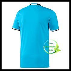 Fotballdrakter Olympique de Marseille Tredjedraktsett 2016-2017 Polo Shirt, T Shirt, Mens Tops, Polos, Tee, Polo, Polo Shirts, Tee Shirt