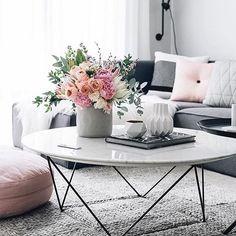 Cinza & Rosa Decor  #homedecor #organizesemfrescuras #cinza #rosa #decor #pink #grey