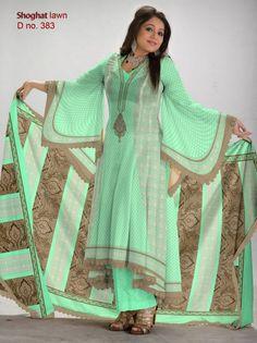 Al-Hamra Textiles Shoghat Lawn Collection 2013 For Women