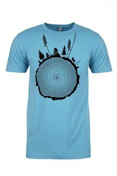 Tree Ring Mountain Bike T-Shirt 486cce419