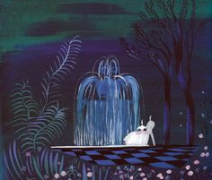 50 Beautiful Pieces Of Concept Art From Classic Disney Movies -- Cinderella (1950). Concept art by Mary Blair.