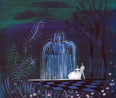 Cinderella (1950). Concept art by Mary Blair