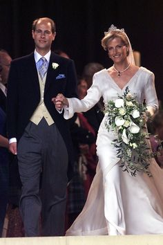 JUNE 1999 – Prince Edward marries Sophie Rhys-Jones at St. George's Chapel in Windsor.