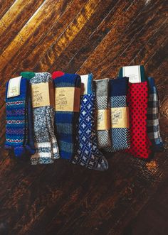 kieljamespatrick:  Its bout that time of year to stock up the socks up