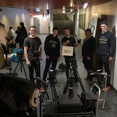 @nidarfabrikken with the boys! #nidar #sonyfs5 #sonyfs700 #sonya72 #a7s2 #a7sii #ronin #dji #canon5d #5dmkii #a7r #a7s #sachtler #manfrotto #arduino #filmproduction #vision #film by got.vision