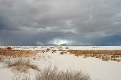 A storm approacheth -- White Sands National Monument (pinned by haw-creek.com)