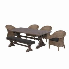 Thomasville Richwood 6-Piece Patio Dining Set $1,699 at Home Depot