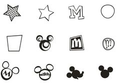 Vector Mickey Mouse Signs [EPS File]