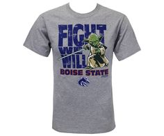 """Fight We Will,"" and Win We Will, too. We've got Yoda on our side. Go Broncos! 