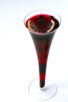 blueberry pomegranate cocktail. Wedding cocktail