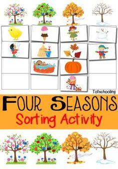 FREE Four Seasons Activity