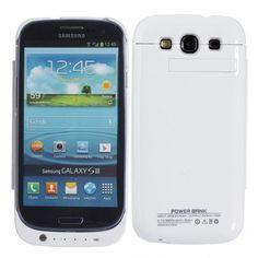 amazones gadgets N, 3200mah Back Battery Leather Case Holder For Samsung Galaxy S3: Bid: 20,47€ Buynow Price 20,47€ Remaining Negócio…